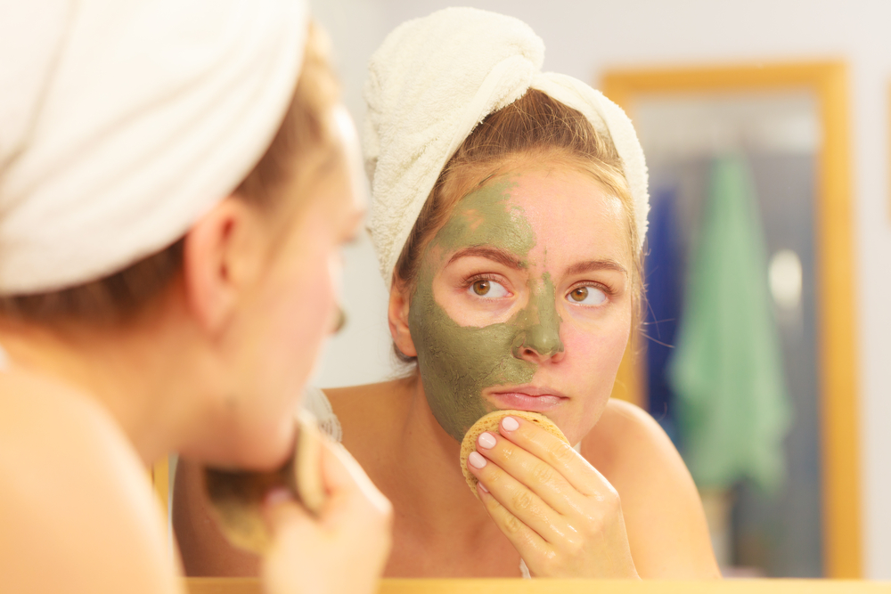 Regularly exfoliate to remove bacteria from your skin